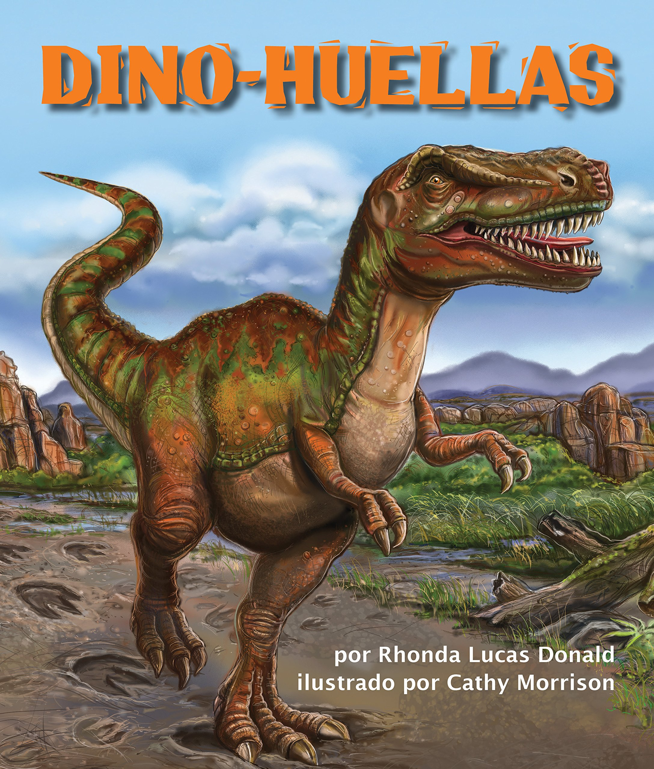 Dino-huellas [Dino Tracks] (Spanish Edition) (Arbordale Collection) pdf epub