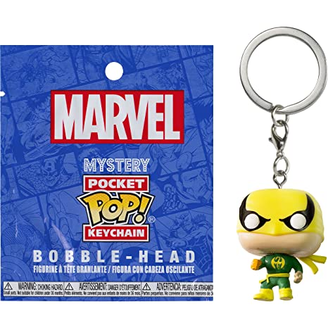 Amazon.com: Iron Fist: Funko Mystery Pocket POP! x Marvel ...