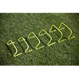 Unlimited Potential Speed Agility Hurdle Training Set of 6 Soccer Football Basketball Track