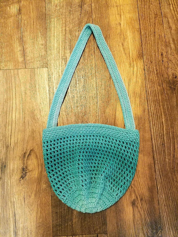 Amazoncom Crochet Market Bag Handmade Beach Tote Mesh Purse Handmade