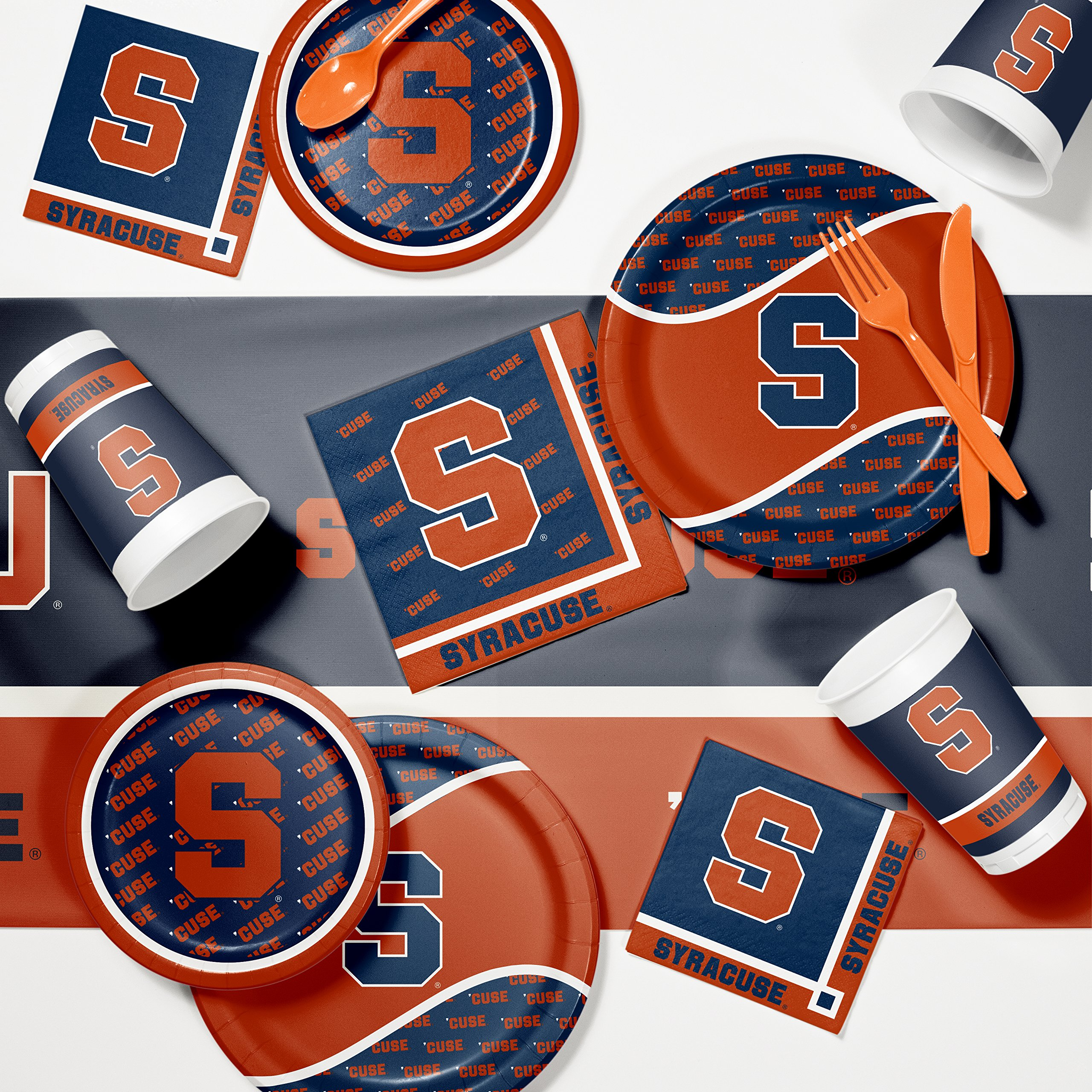 NCAA Syracuse Game Day Party Supplies Kit