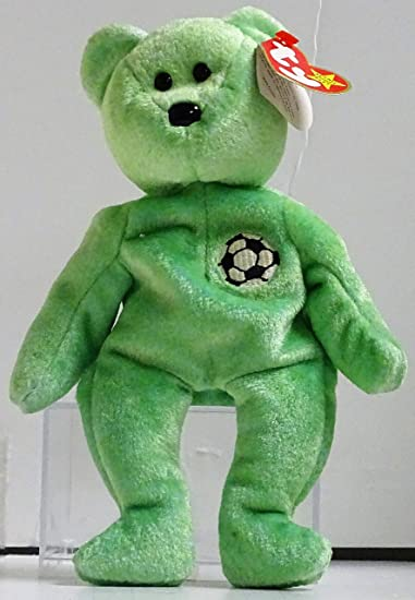 Buy TY Beanie Baby - KICKS the Soccer Bear Online at Low Prices in India -  Amazon.in a2e6cf6b0402