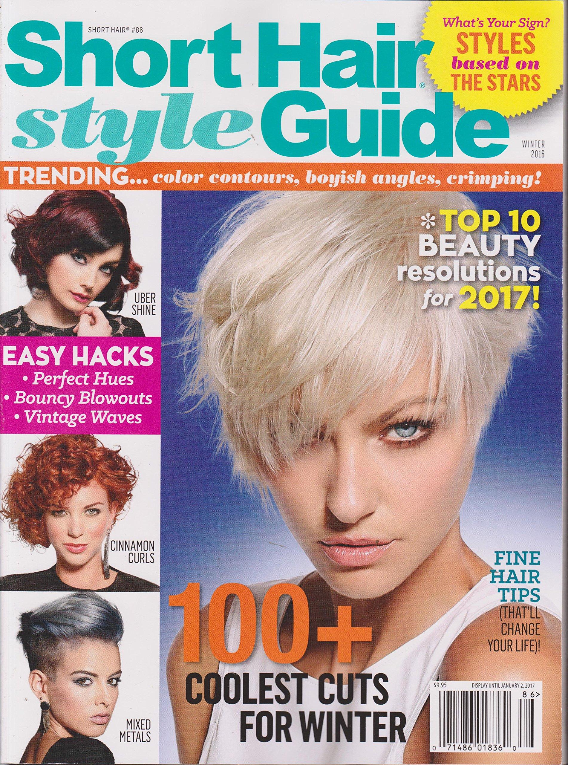 Short Hair Style Guide Magazine Winter 2016 Amazon Books