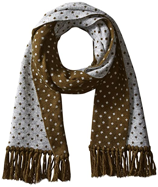 Amazon.com: Ben Sherman – Chaqueta Micro-Dot Knit Scarf ...