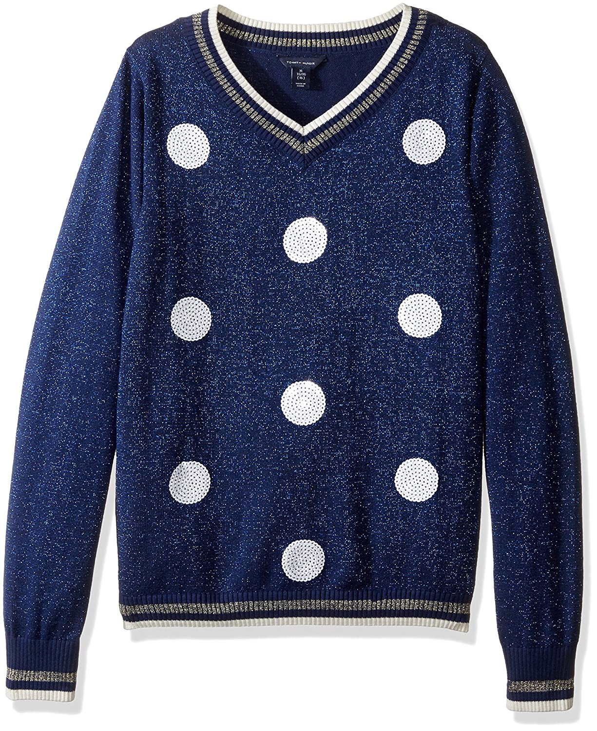 Tommy Hilfiger Girls Pullover Fashion Sweater