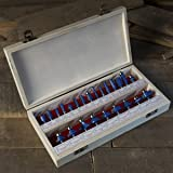 "Router Bit Set- 24 Piece Kit with ¼"" Shank and"