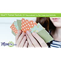 MomTV Partner Feature: DIY Personalized Go Fish Game from MyPrintly