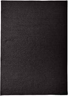 """product image for Sunbrella Solid Sample Swatch Rugs, 14 x 17"""", Ebony Black"""