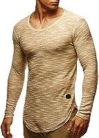 LEIF NELSON Uomo Felpa con cappuccio felpa con cappuccio T-Shirt ln6358