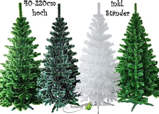 base con dep/ósito extrarresistente Soporte de /árbol de Navidad montaje en minutos Plateado 560mm pl/ástico