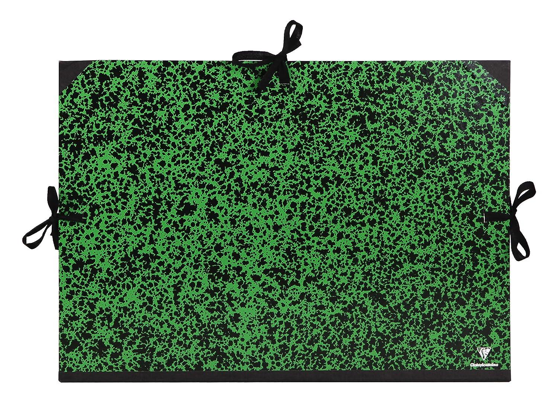Verde Clairefontaine 32200C Cartella Portadisegno 37 x 52 cm