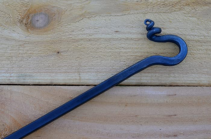 Amazon Com Hand Forged Fire Poker Accessory For Campfires