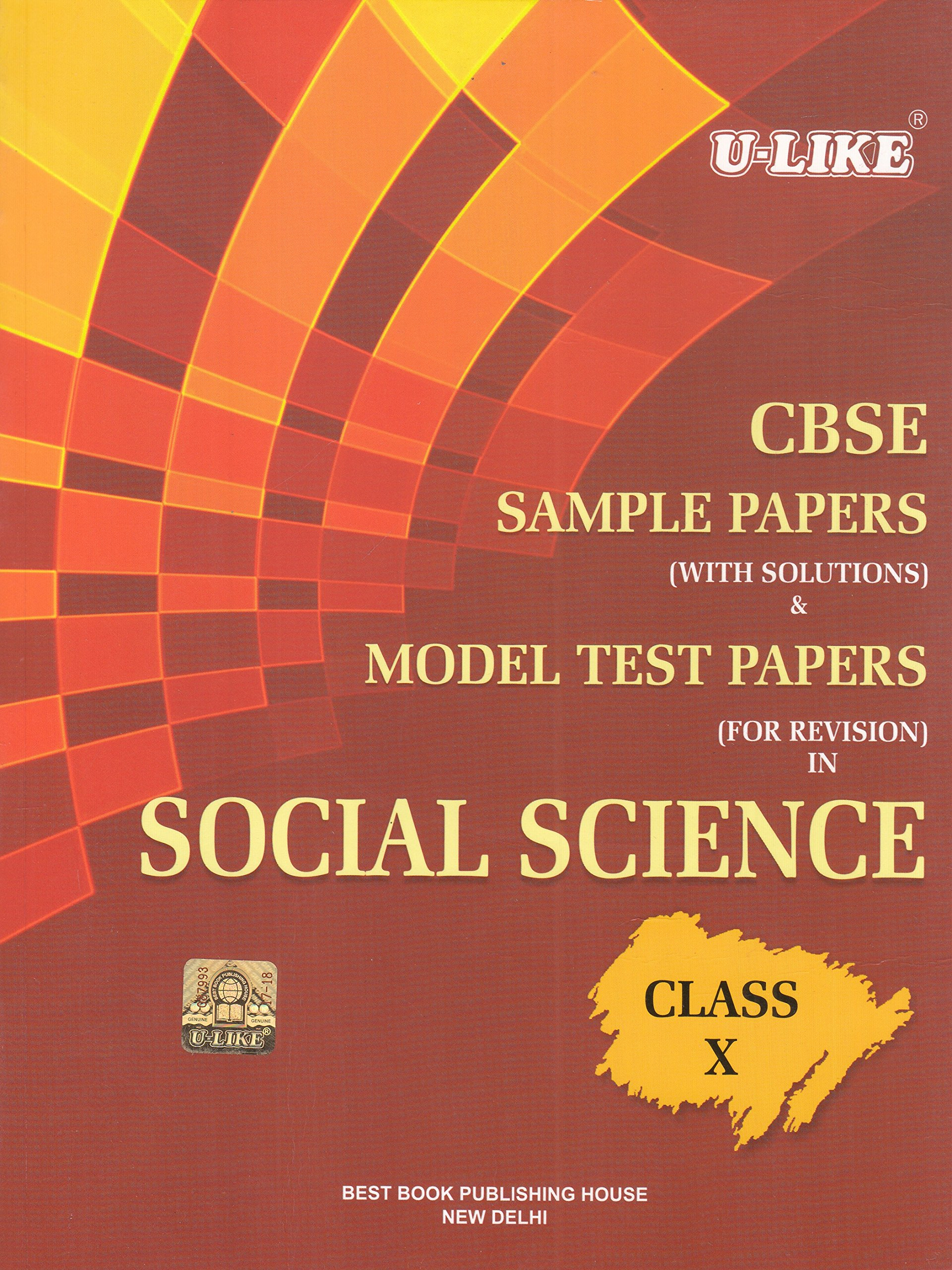 Cbse Class 10 Social Science Book