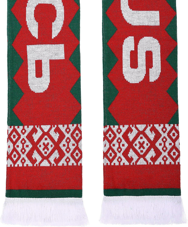 Belarus Soccer Knit Scarf