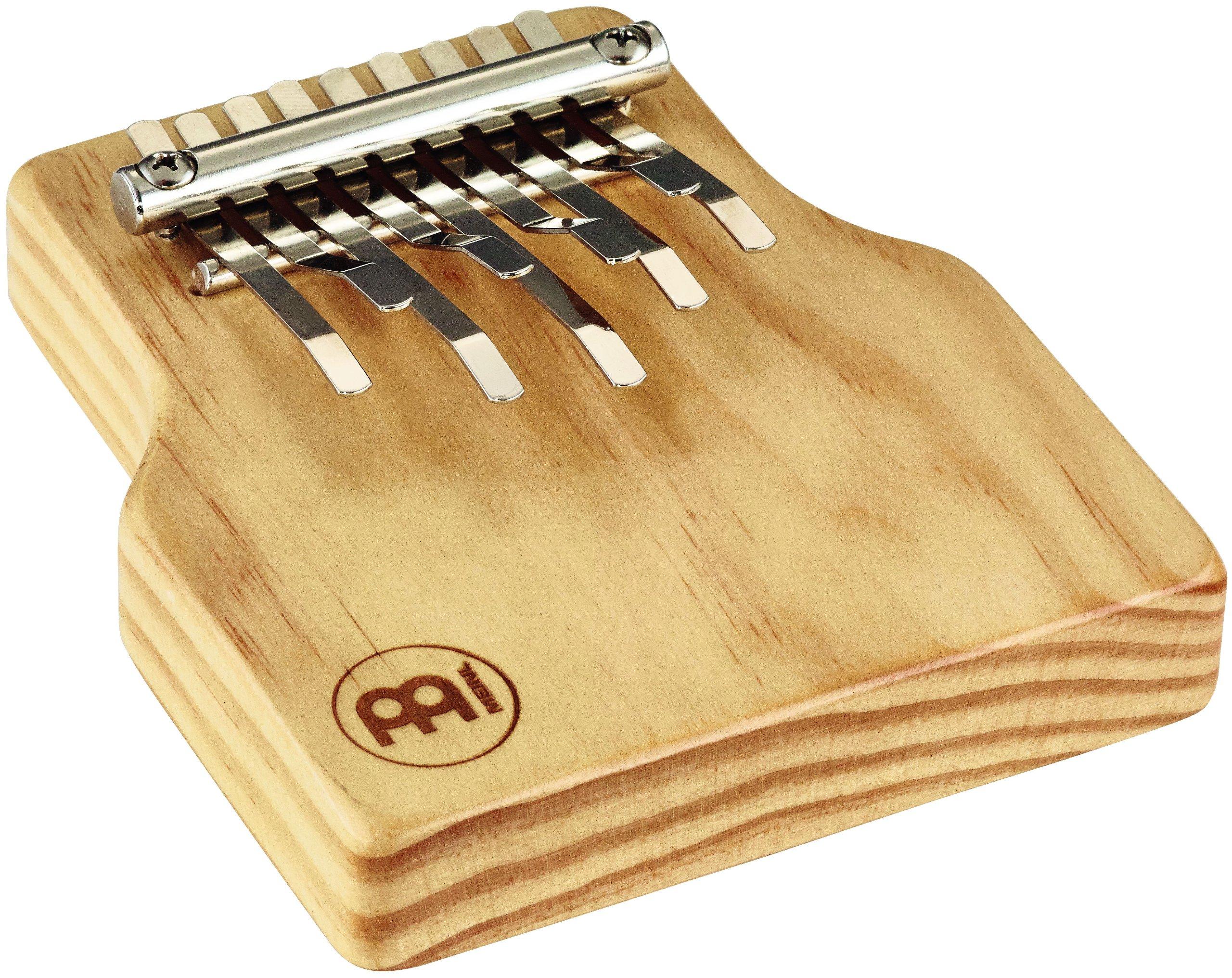 Meinl Percussion KA9-M Solid Wood Kalimba, Medium, Natural