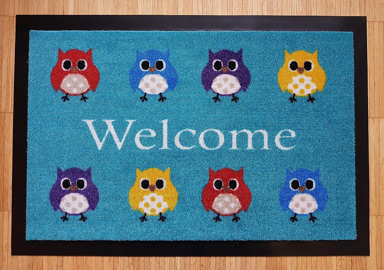 Trend Prodotti Shop Zerbino Design Gufo Black-Owl
