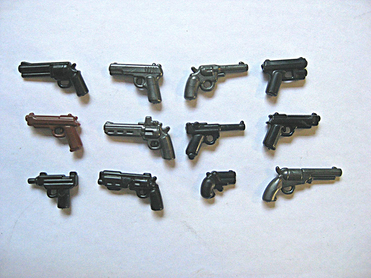 BrickArms WWI Trench Pack for Minifigures 10 pcs Lego Compatible Weapons