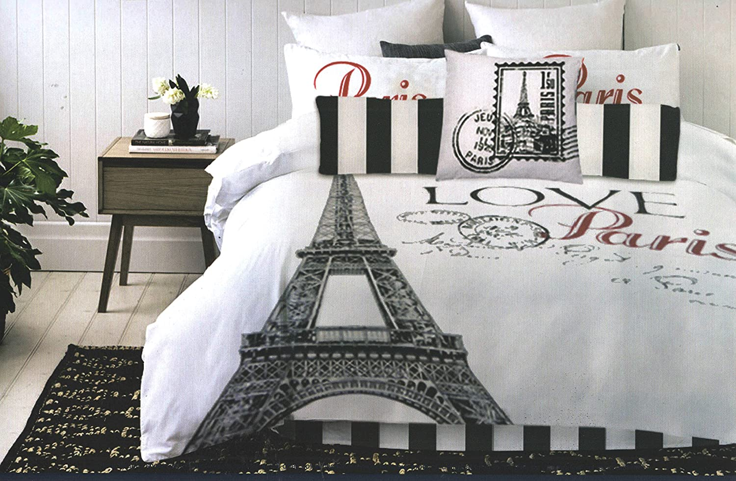 MA - Paris Comforter Set (Full Double) Lauren Tylor London