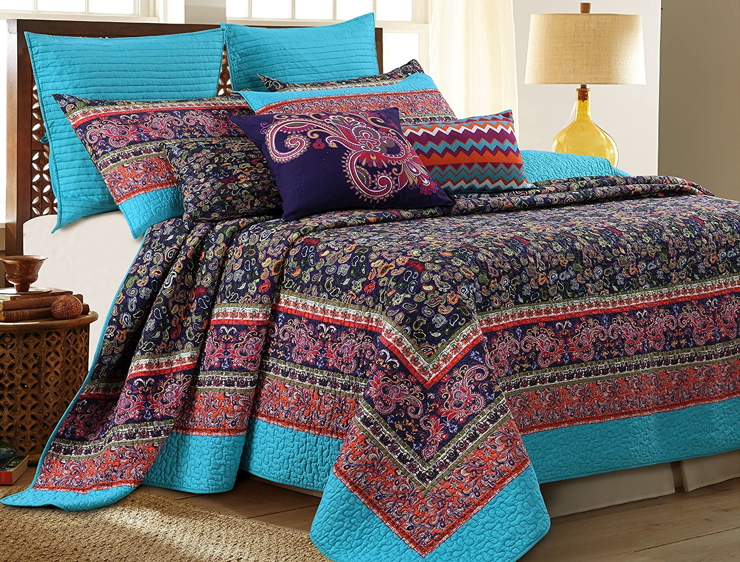 Greenland Home 2 Piece Gala Quilt Set, Twin