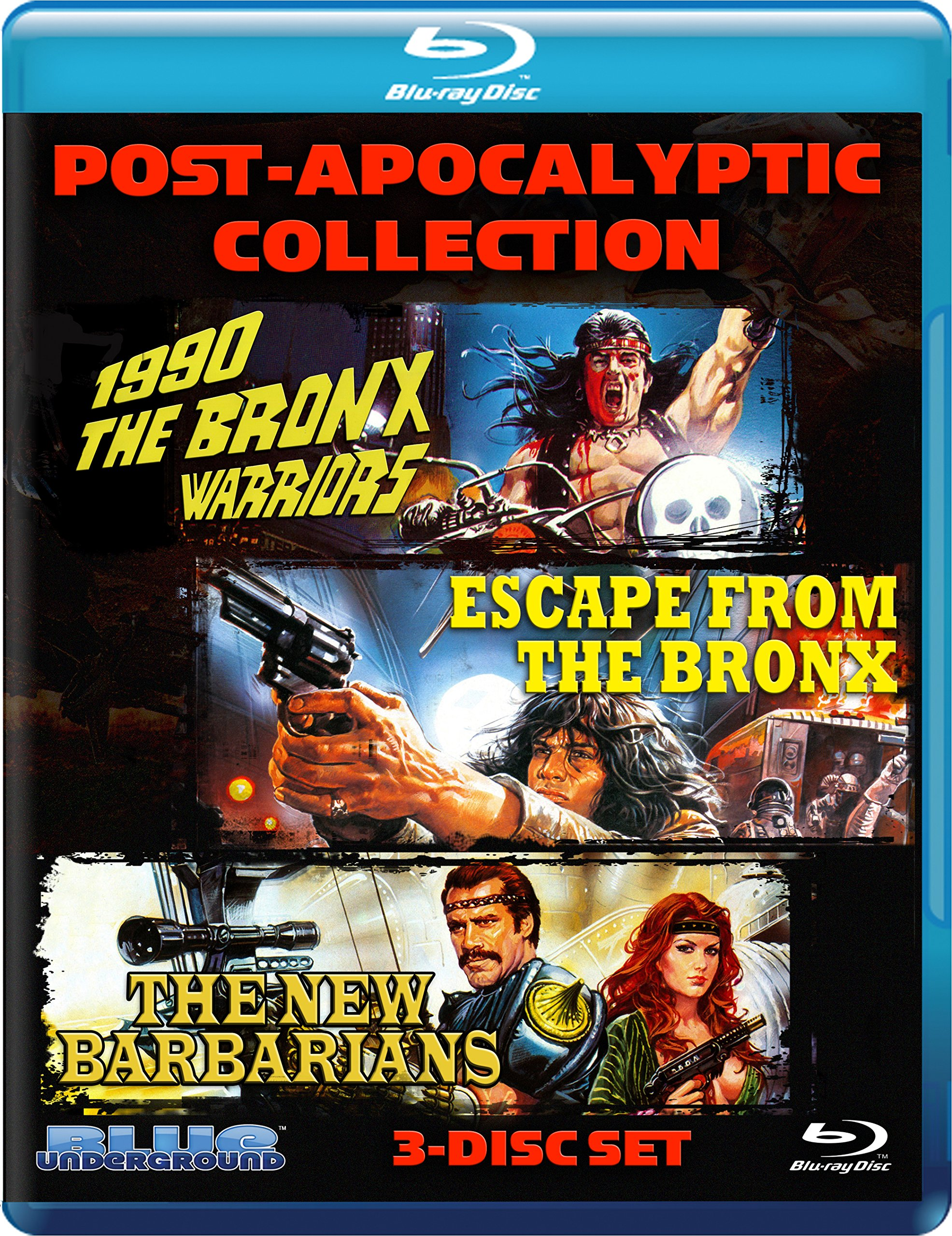 Post-Apocalyptic Collection (3-Disc Blu-ray Set)