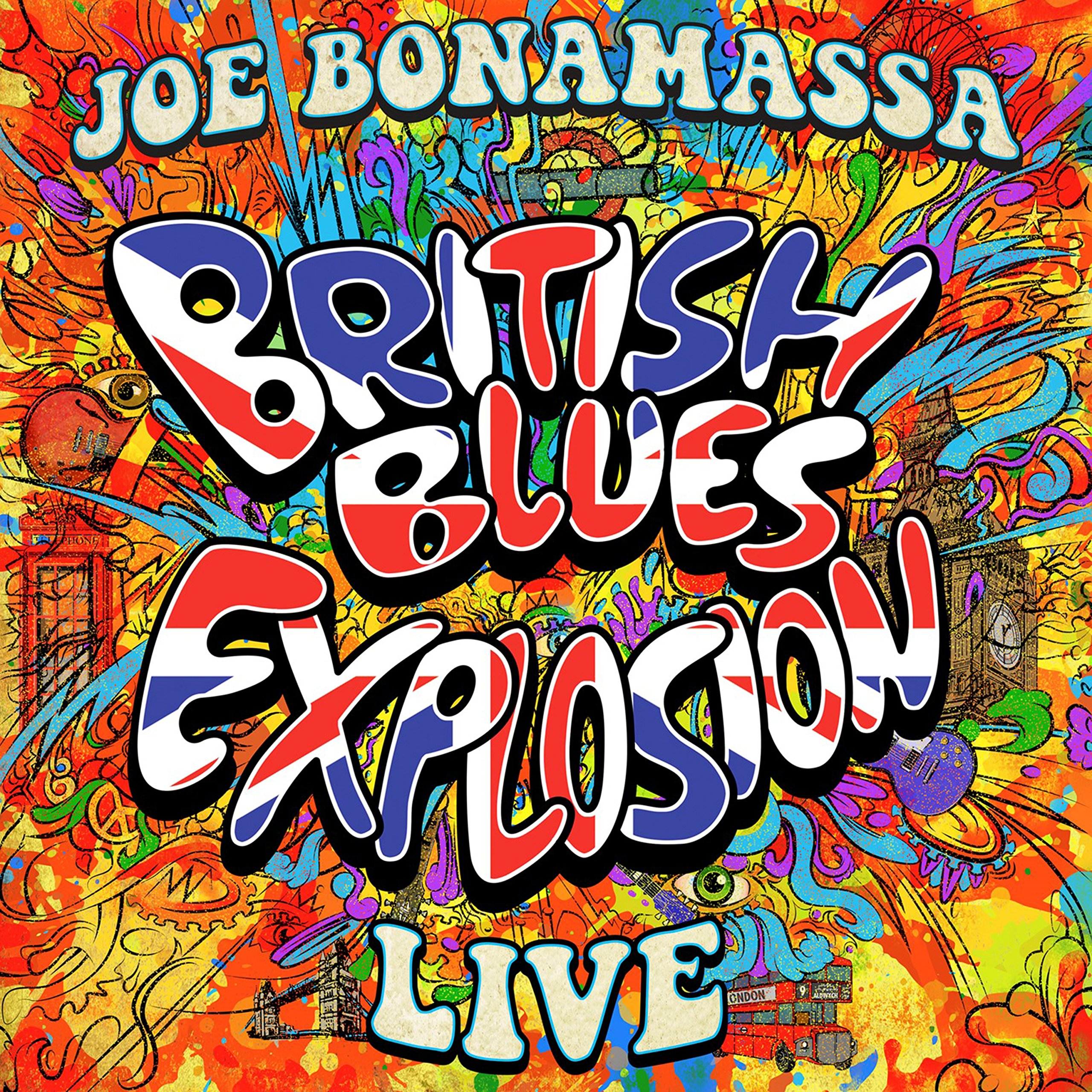 Blu-ray : Joe Bonamassa - British Blues Explosion Live (Blu-ray)