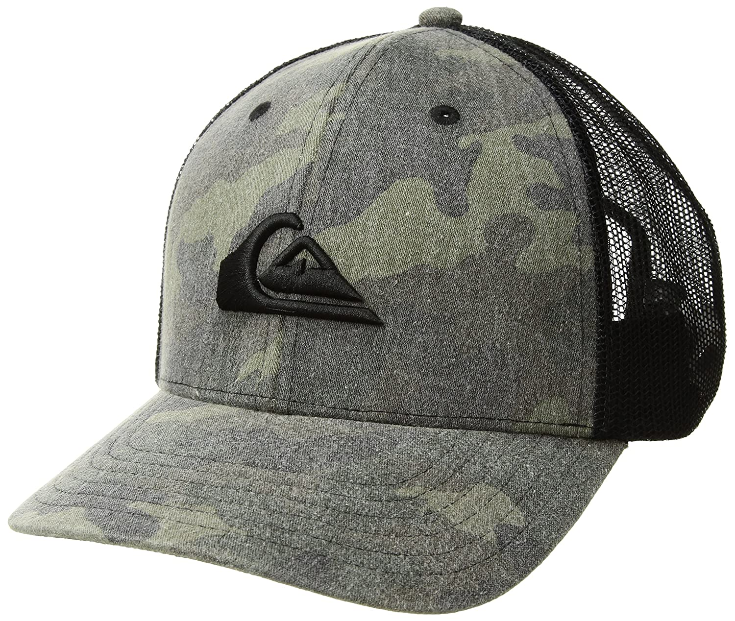 cc6faac5feb Amazon.com  Quiksilver Men s Grounder Trucker HAT