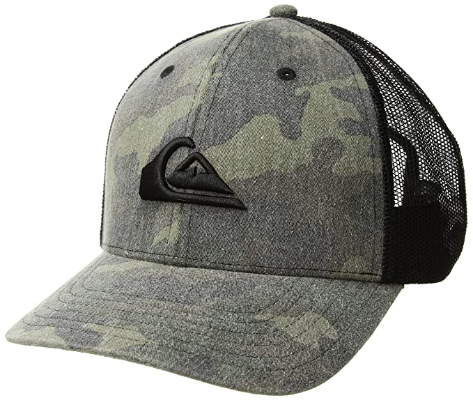 e7346a2a2e7aa Amazon.com  Quiksilver Men s Grounder Trucker HAT