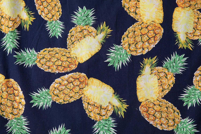 Mens Hawaiian Shirts Button Down Tropical Print Aloha Short Sleeve Shirts