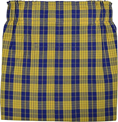 Brooks Brothers Mens Traditional Fit Plaid 100/% Cotton Boxer Red and Blue