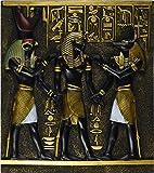 Design Toscano Rameses I Between Horus and Anubis Wall Frieze