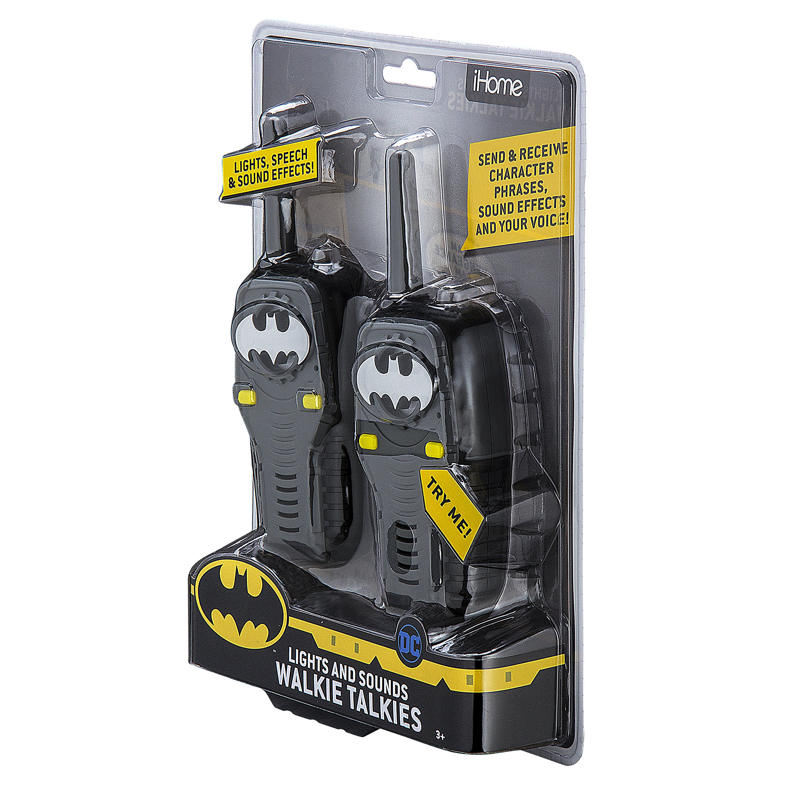 Batman FRS Walkie Talkies for Kids with Lights and Sounds Kid Friendly Easy to Use by eKids (Image #8)
