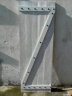 CCJH 6FT-183cm Retro Corredizo de Madera Granero Puerta Hardware ...