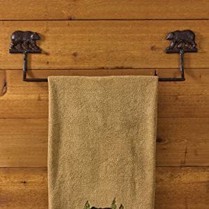 Park Designs Cast Bear Towel Bar - 24