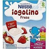 Iogolino - Fresa A Partir De 8 Meses 4 x 100 g