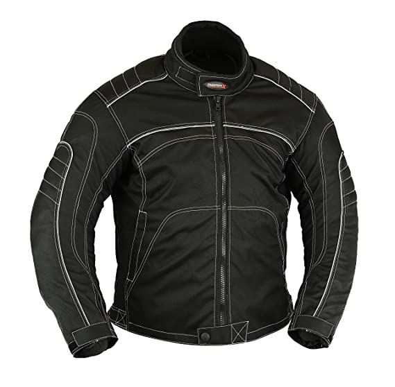 da6a065f586 Image Unavailable. Image not available for. Colour: GearX Spy Mens Summer  Motorcycle Jacket ...