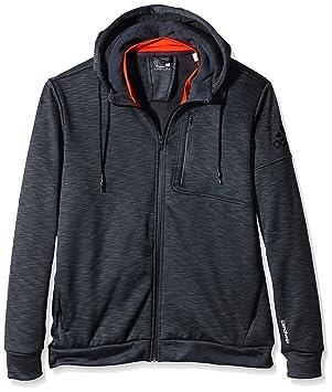 adidas Climaheat Men's Hooded Sweatshirt, Mens, Climaheat, Heat Dark Grey  Mel/Bold