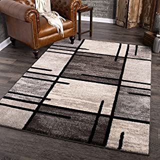 """product image for Orian Rugs American Heritage Armada Area Rug, 5'3"""" x 7'6"""", Charcoal"""