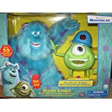Monsters, INC. Electronic Interactive Talking Sulley & Mike Combo by Thinkway Toys