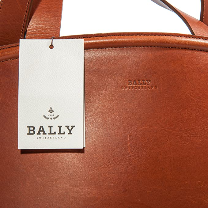 Bally Chameau Femme Tout Sac Cuir Marron Fourre Shopper rp5raqw