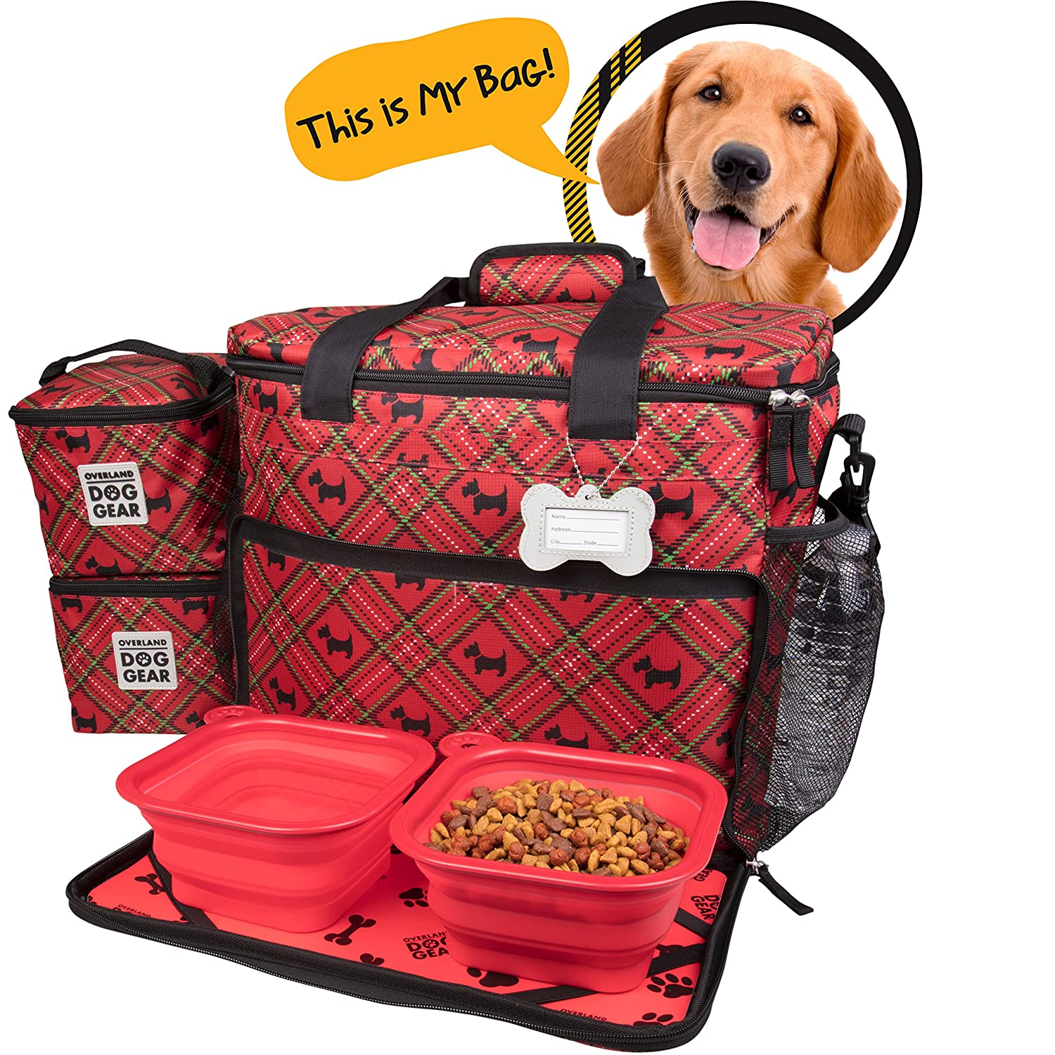 2e0672436ba9 Ideas In Life Dog Travel Bag Airline Approved Purse for Accessories ...