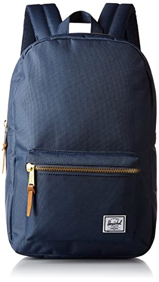 384d19c4a152 Herschel Supply Settlement Mid-Volume Backpack, Navy, One Size