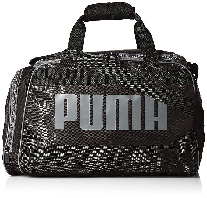 3dca8aeabb PUMA Mens PV1456-RED Puma Men s Transformation Duffel Sports Duffel Bags -  Black - OS
