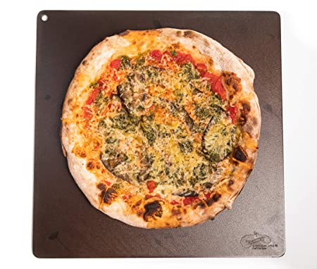 Dough-Joe Pizza Steel Baking Sheet–The Emperor –15 x 15 x 1 2