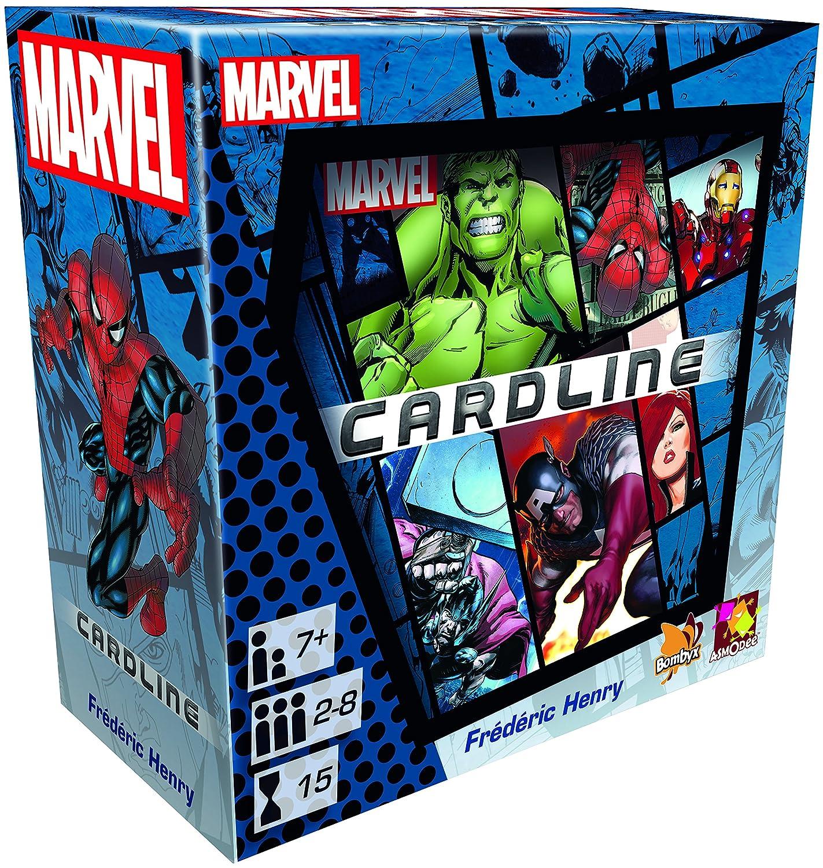 Asmodee 002799 – Marvel Card Line