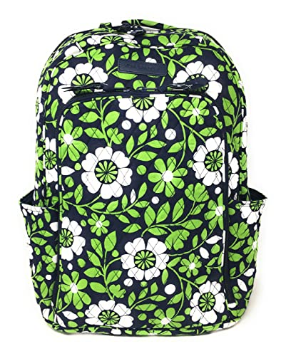 f6b61620cd78 Vera Bradley Laptop Backpack (Updated Version) with Solid Color Interiors  (Lucky You with