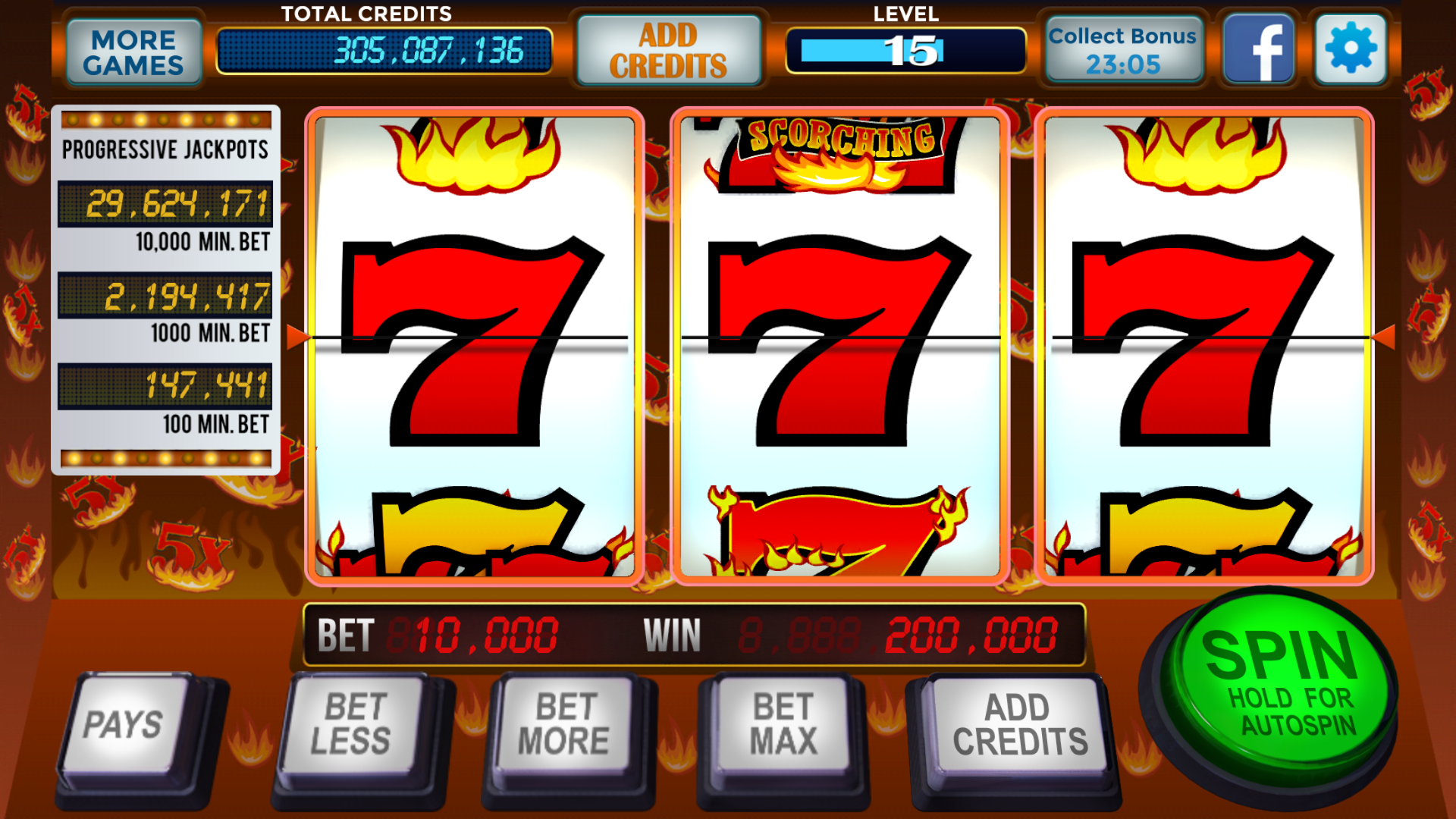 hot slots casino games