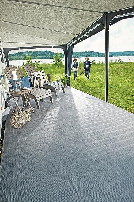 Tapis de sol PVC gris 250 x 400 cm
