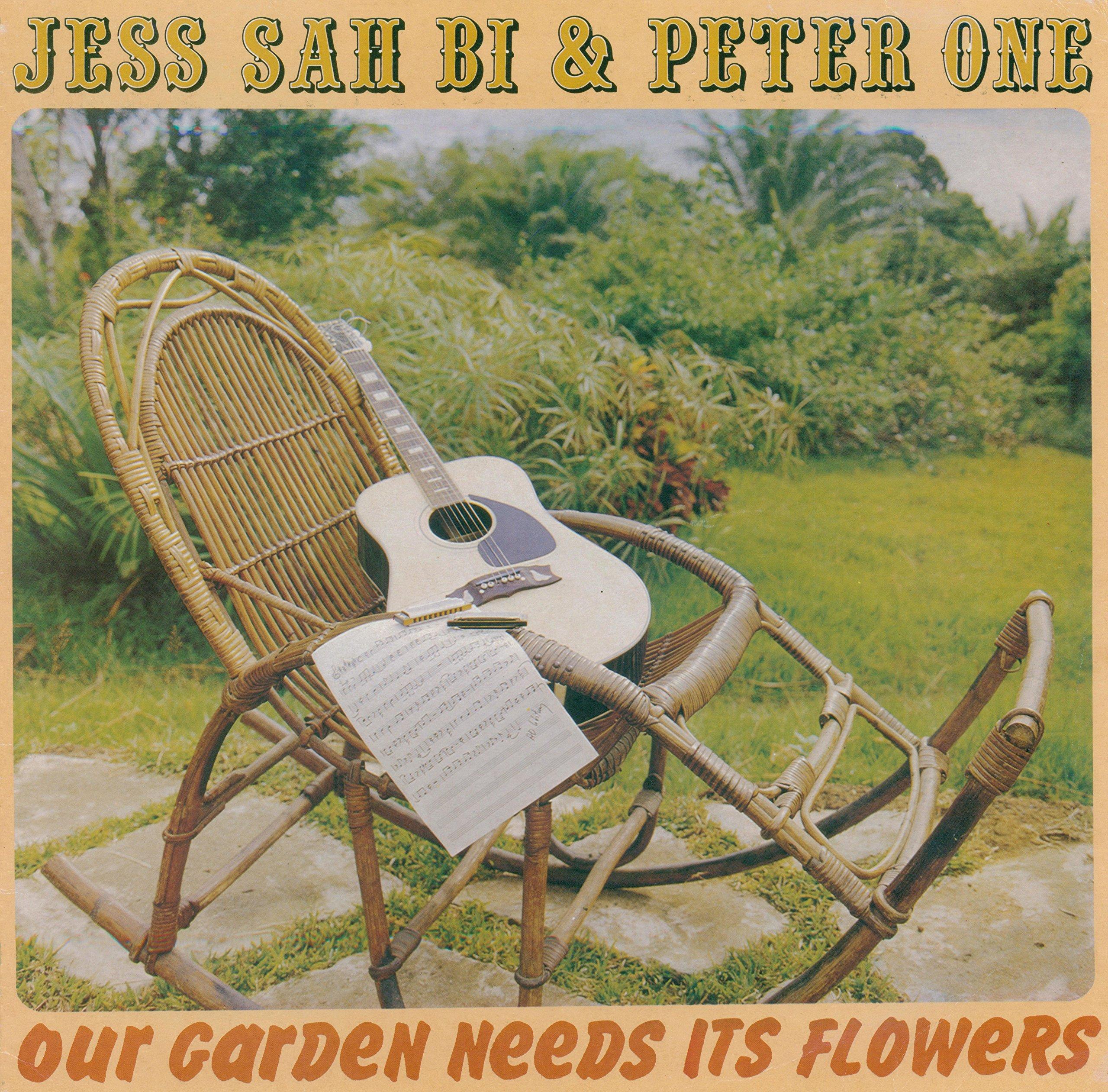 Vinilo : JESS SAH BI & PETER ONE - Our Garden Needs Its Flowers (LP Vinyl)