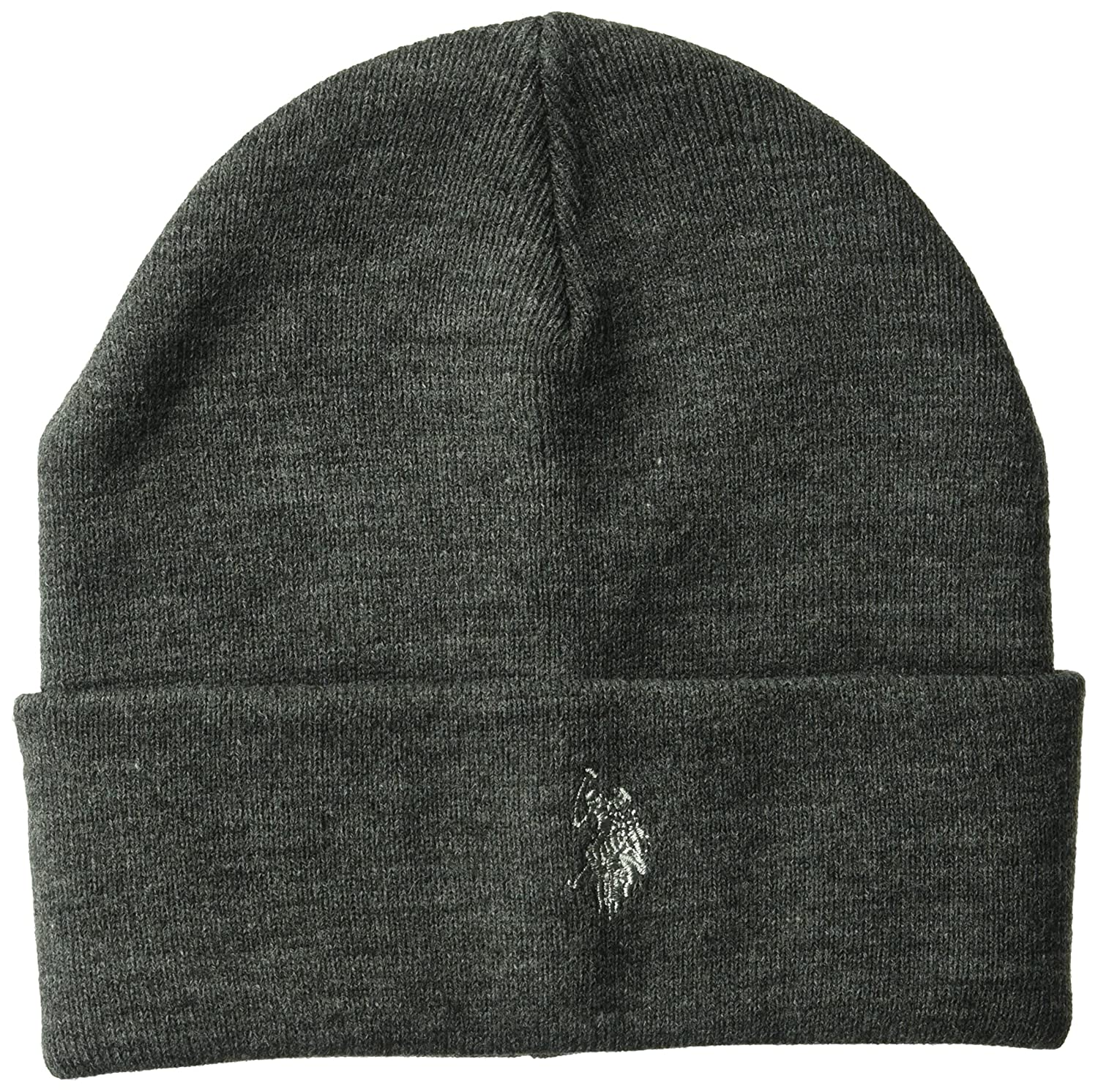 U.S. Polo Assn. Men s Fine Knit Cuffed Winter Beanie 3678583795d