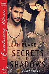 Secrets in Shadows [Shadow Creek  1] (Siren Publishing Everlasting Classic ManLove) Kindle Edition